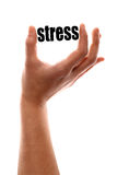 Smaller stress Royalty Free Stock Image