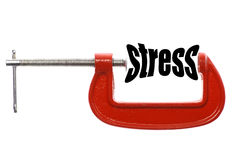 Smaller stress Royalty Free Stock Photography