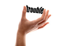 Smaller trouble Royalty Free Stock Photos