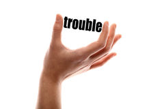 Smaller trouble Royalty Free Stock Photography