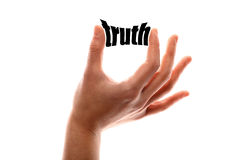 Smaller truth Stock Images