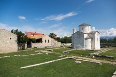 Smallest Cathedral in the World. Croatia Stock Photos