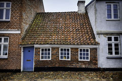 The smallest house in Ribe, Denmark Royalty Free Stock Image