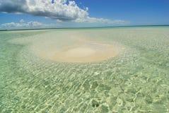 Smallest island. In Cayo Coco Island, Cuba Royalty Free Stock Photo