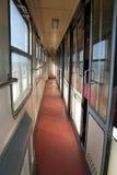 smalt gammalt drev för korridor Royaltyfria Foton