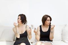 Smalto per unghie Fotografie Stock Libere da Diritti