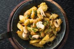 smażone ziemniaki Obrazy Stock