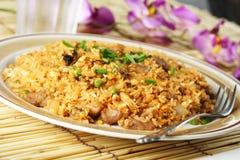 smażony ryż. Zdjęcie Stock