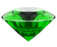 Smaragd 3d Lizenzfreie Stockfotos