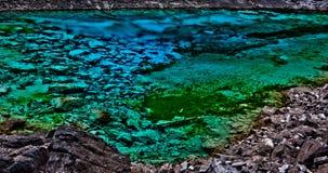 Smaragd sjö Fotografering för Bildbyråer
