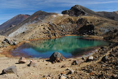 Smaragd sjö Arkivbild