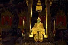 Smaragdbuddha lizenzfreies stockfoto