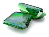Smaragden Royalty-vrije Stock Afbeelding