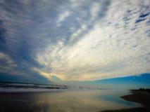Smaragdgroen eiland NC Royalty-vrije Stock Afbeeldingen