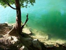 Smaragdgroen water Royalty-vrije Stock Afbeelding