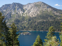Smaragdgroene Baai, Meer Tahoe stock afbeelding