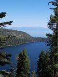 Smaragdgroene baai, Meer Tahoe, Californië stock fotografie