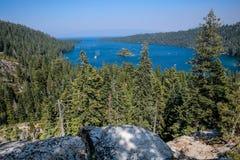 Smaragdgroene Baai, Meer Tahoe E royalty-vrije stock foto's