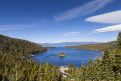 Smaragdschacht, Lake Tahoe, Kalifornien Lizenzfreie Stockbilder