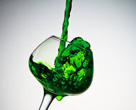 Smaragdspritzen Stockbilder