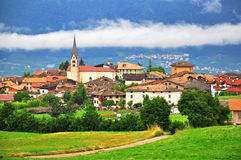 Smarano, Italia Fotografia Stock
