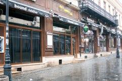 Smardan street Royalty Free Stock Photo