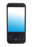 smart övre för tät telefon Arkivfoton