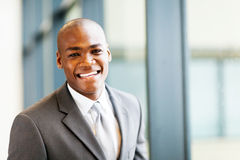Smart african businessman Stock Photography
