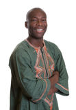Smart african man with traditional clothes Stock Images