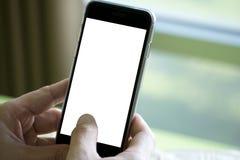 smart använda för telefon Royaltyfri Bild