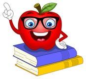 Smart apple Royalty Free Stock Photos
