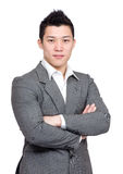 Smart asian business man Stock Photos