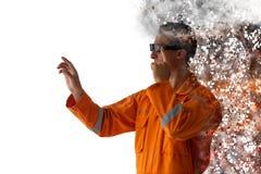 Free Smart Augmented Mixed Virtual Reality Disruption Technology Royalty Free Stock Photography - 162882377