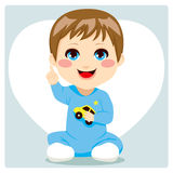 Smart Baby Boy Royalty Free Stock Image