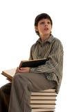 Smart boy Stock Images