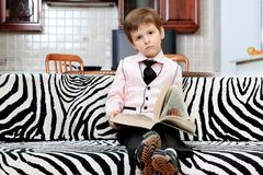 Smart boy Stock Photography