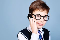 Smart boy Royalty Free Stock Images