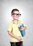 Smart boy Stock Image