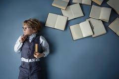 Smart boy Stock Photos