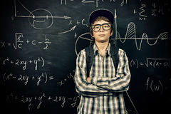 Smart boy student Royalty Free Stock Images
