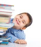 Smart Boy Studying Stock Photos