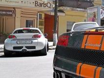 March 3, 2012, Kyiv. Ukraine. Smart Brabus stock images