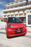 Smart Brabus Red Edition Royalty Free Stock Photography
