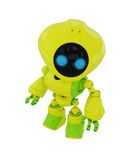 Smart bright robot figurine Stock Photography