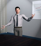 Smart business guy Royalty Free Stock Image