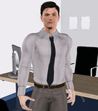 Smart business guy Stock Photo