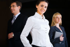 Smart business lady Stock Photo