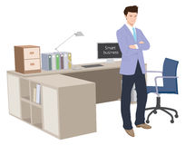 Smart Business man Stock Photo