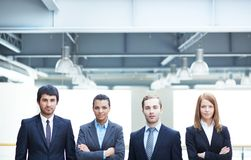 Smart business partners Royalty Free Stock Images