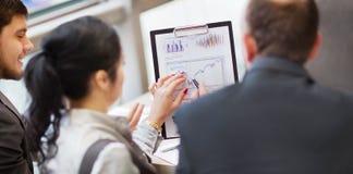 Smart business partners Stock Image